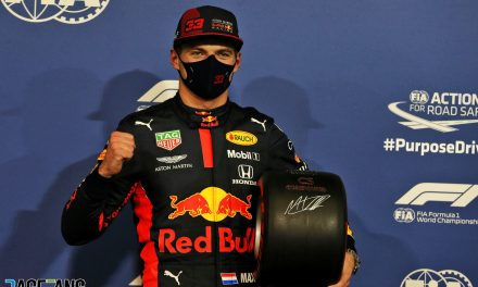 "Verstappen thrilled to end run of ""frustrating"" qualifying sessions with pole · RaceFans"