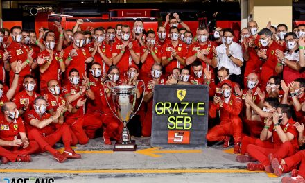 "Ferrari hail ""outstanding professional"" Vettel after his final drive for team · RaceFans"