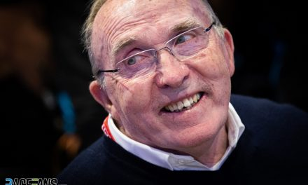 Sir Frank Williams admitted to hospital · RaceFans