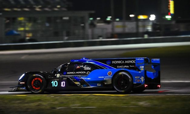 "Daytona 24 Hours: Albuquerque drove ""race of my life"" to hold lead 