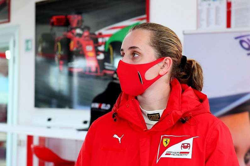 Weug wins FIA's Girls on Track initiative and spot in Ferrari Driver Academy   Other News