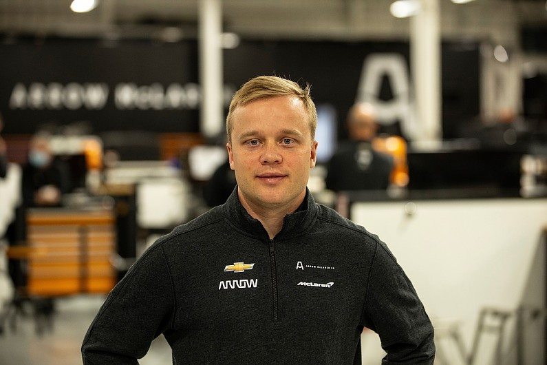 """Rosenqvist settled into McLaren IndyCar team in """"very natural way"""" 