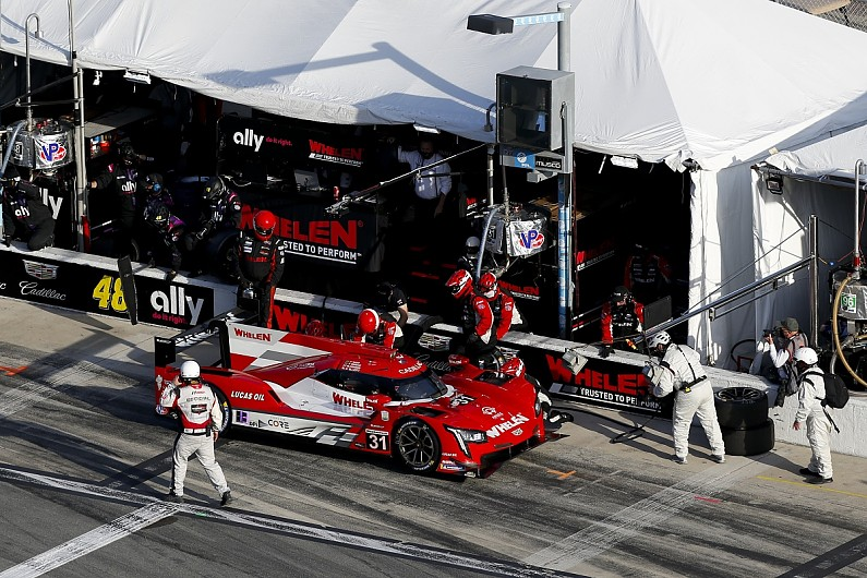 Daytona 24 Hours: Whelen AXR Cadillac loses win chance with gearbox issue | IMSA SportsCar News