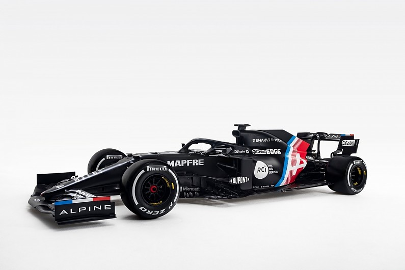 Alpine to launch A521 F1 car next month after livery tease | F1 News