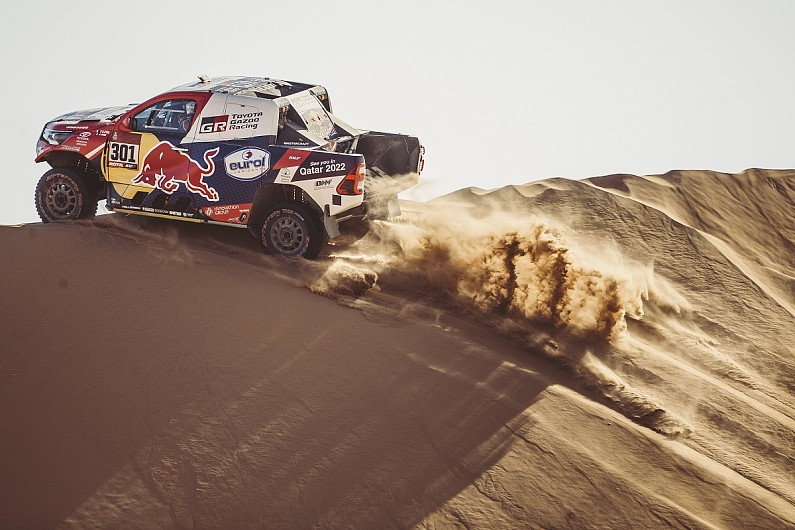 "Al-Attiyah had to ""attack from day one"" of Dakar in ""open"" victory fight 
