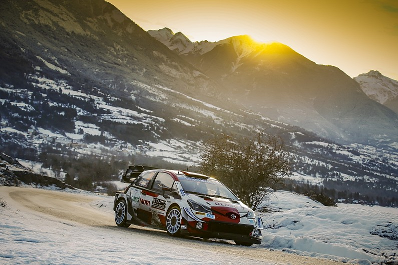 """Evans struggled to """"connect"""" with new WRC tyres in Monte Carlo   WRC News"""