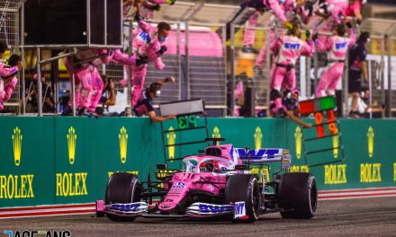Norris's missing helmets, Perez's Sakhir Safety Car slip and more forgotten tales from 2020 · RaceFans
