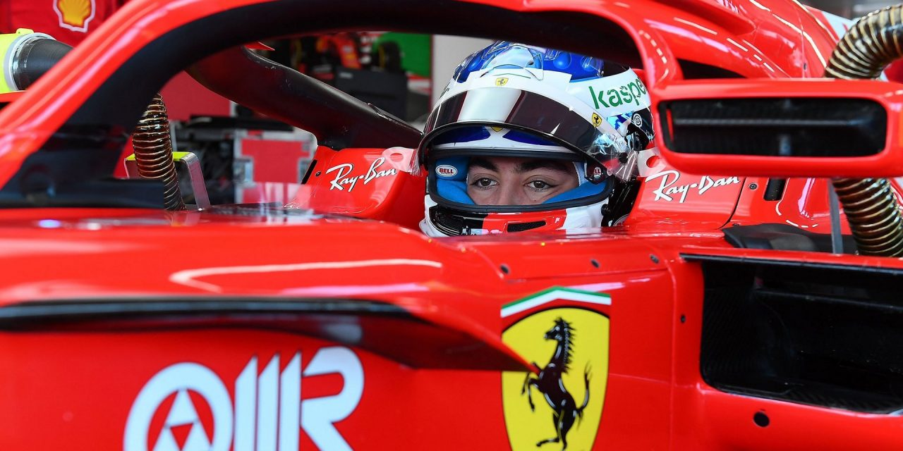 Giuliano Alesi makes F1 test debut for Ferrari · RaceFans