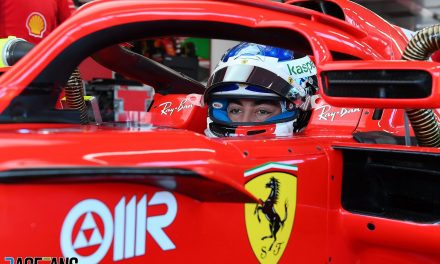 Alesi and Armstrong make F1 test debuts for Ferrari · RaceFans