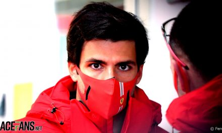Sainz drives a Ferrari F1 car for the first time at Fiorano · RaceFans