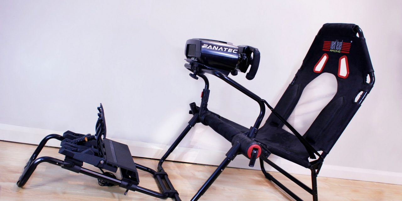 Next Level GT Lite foldable simracing seat reviewed · RaceFans