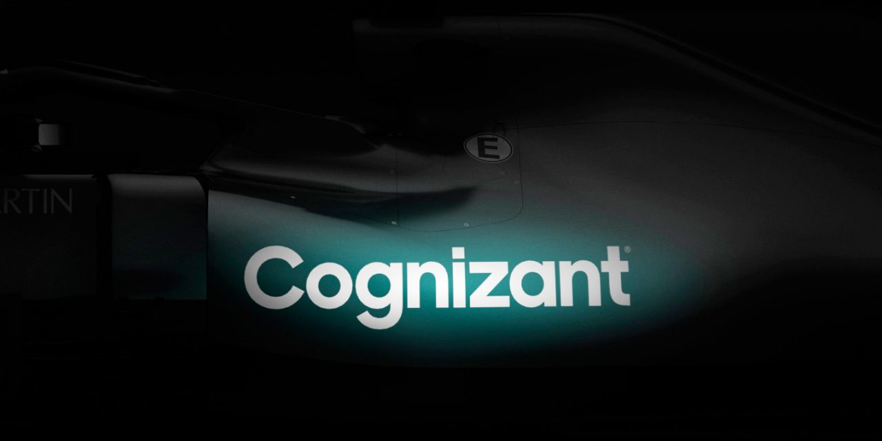Aston Martin reveals Cognizant as title sponsor in first glimpse of F1 team livery · RaceFans