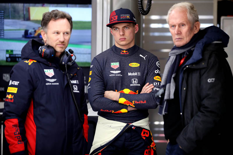 Verstappen does have a performance clause in his contract