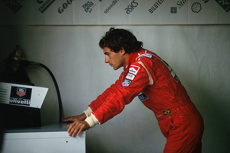 When Senna signed a race-by-race deal for $1m per race   F1 News