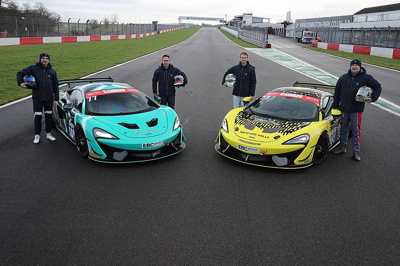 Carroll and Webb to compete in GT4 McLarens in GT Cup with Greystone GT | National News