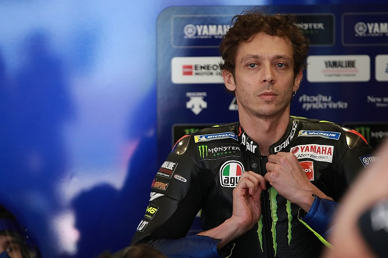 "Rossi 2022 decision will come after ""six, seven"" MotoGP races 