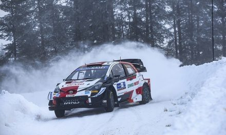 Ogier laments his road position for Friday's WRC Arctic Rally stages | WRC News