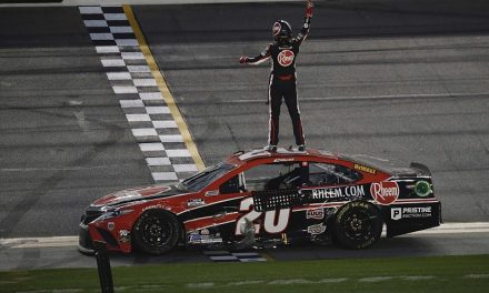 NASCAR Daytona road course: Bell passes Logano for first Cup win | NASCAR News
