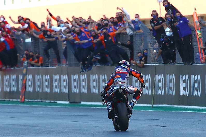 """Petrucci """"the first to believe"""" in KTM's MotoGP potential 