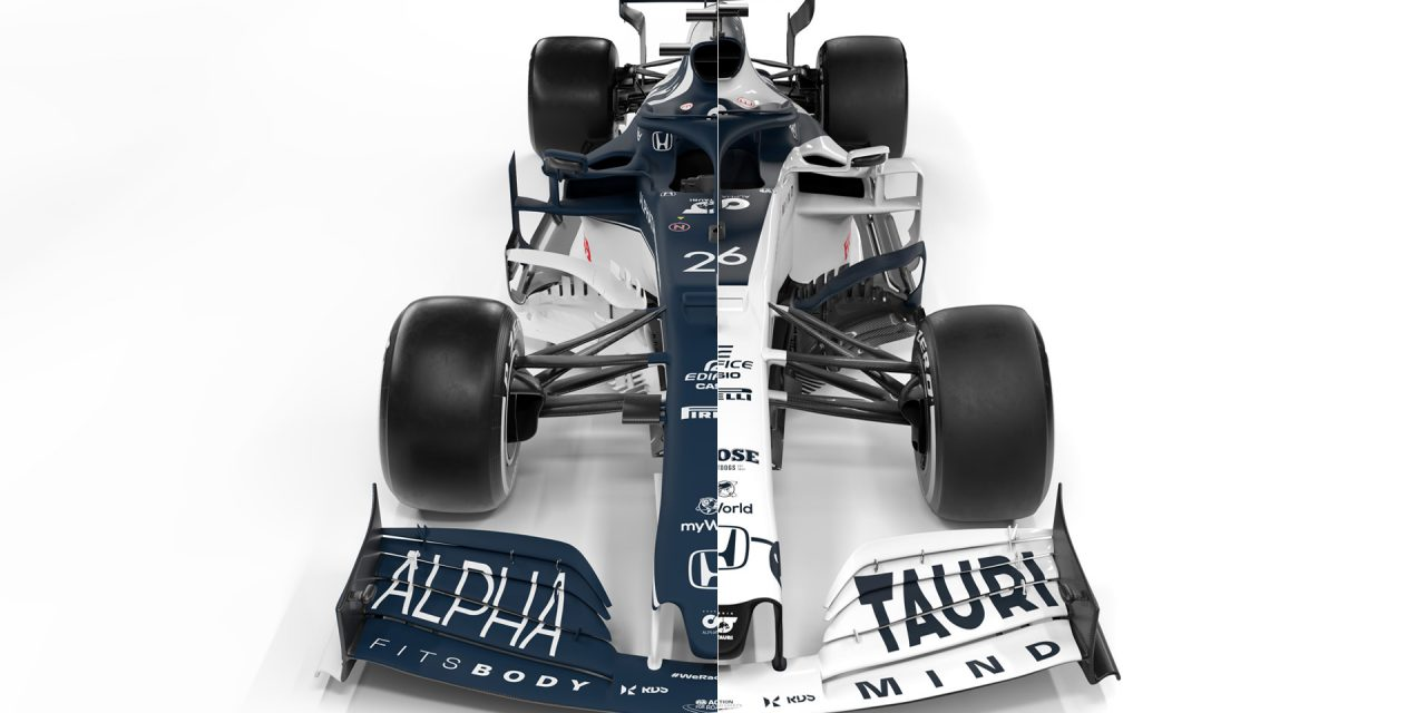 Compare the new AlphaTauri AT02 with last year's car · RaceFans