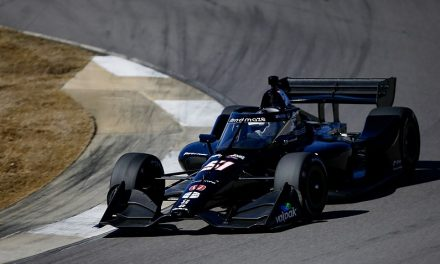"""Grosjean """"really happy"""" with IndyCar test despite spin and soreness 