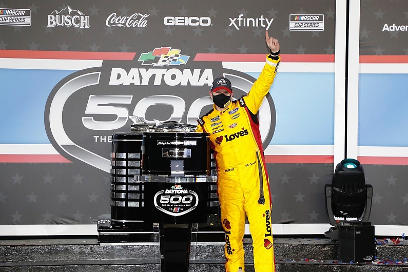 "Daytona 500 winner McDowell ""never lost hope"" amid long win drought 