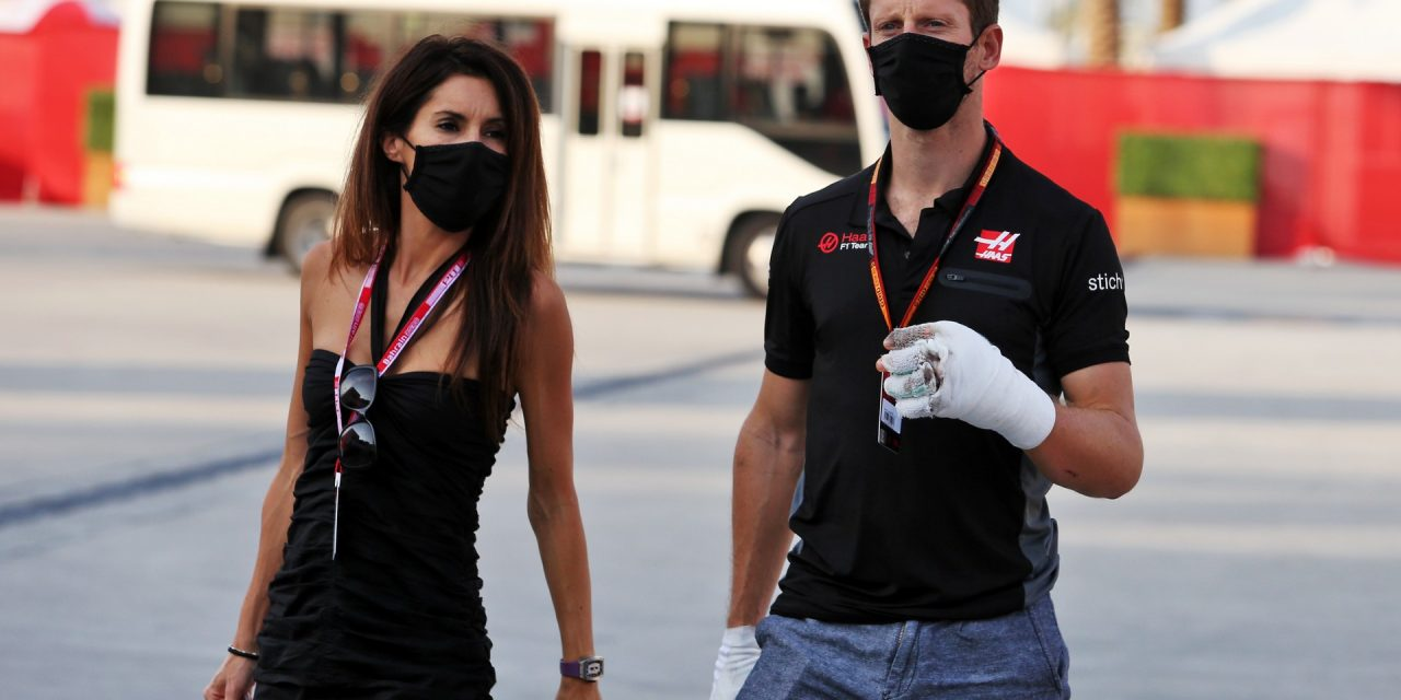 """Grosjean's decision not to race ovals is """"family choice"""" after Bahrain crash · RaceFans"""