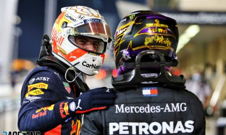 Verstappen 'not thinking about' chance to replace Hamilton at Mercedes · RaceFans
