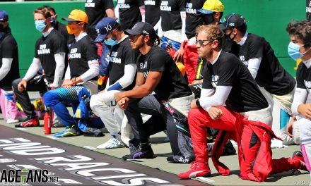 F1 to review pre-race anti-racism ceremony with drivers before season starts · RaceFans