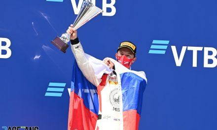 Mazepin and other Russian drivers forbidden from racing under country's flag · RaceFans