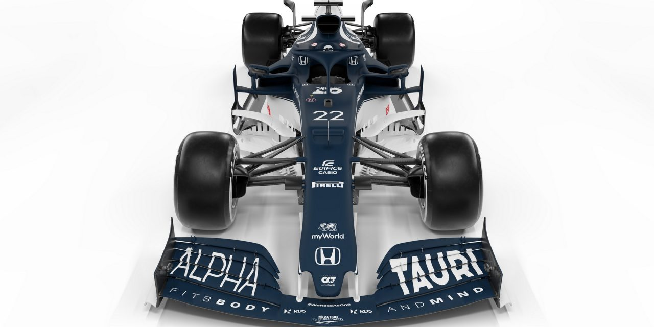 AlphaTauri presents its new AT02 for the 2021 F1 season · RaceFans