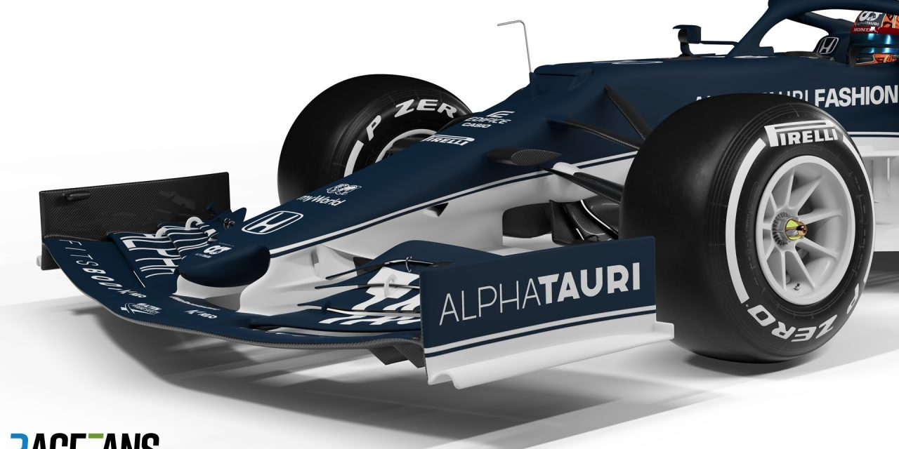 AlphaTauri used tokens and 2020 Red Bull parts to overhaul front end of AT02 · RaceFans