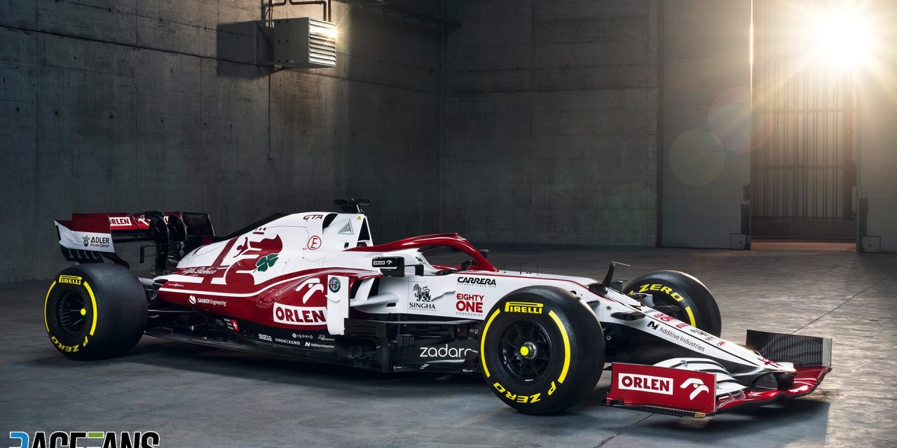 Alfa Romeo presents its C41 for the 2021 season · RaceFans