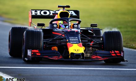 Perez makes track debut for Red Bull at Silverstone · RaceFans