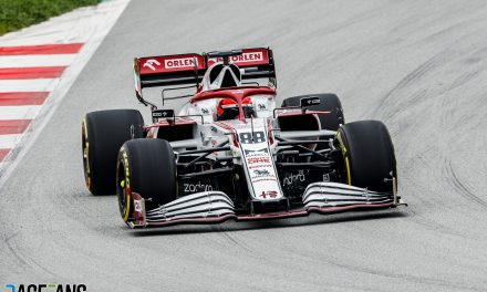 Kubica gives Alfa Romeo's new C41 its debut on track · RaceFans