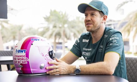 Vettel to race with pink F1 helmet after becoming BWT ambassador