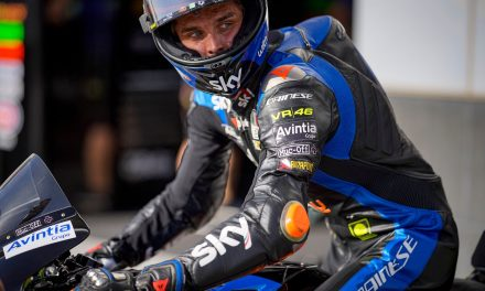 """MotoGP rookie Marini """"nearly forgot"""" brother Rossi was on Qatar grid"""