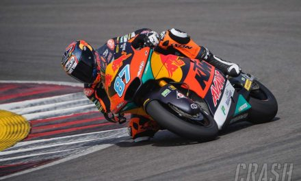 Red Bull KTM Ajo Moto2 team complete two-day test with Remy Gardner quickest | MotoGP