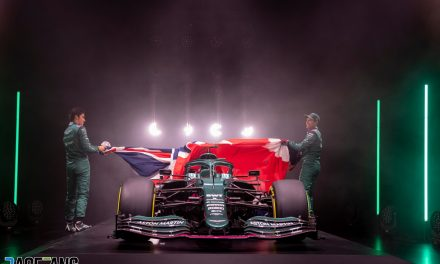 Aston Martin reveals its first F1 car for over 60 years · RaceFans
