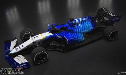 Williams presents a new look for the 2021 F1 season · RaceFans