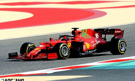 New Ferrari SF21 makes its debut on track · RaceFans