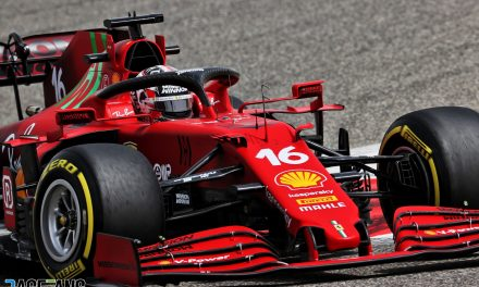 Leclerc encouraged to discover new Ferrari is behaving as expected · RaceFans
