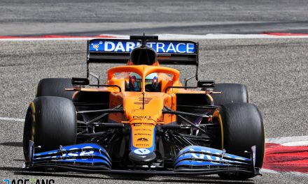 McLaren's test could not have gone better so far