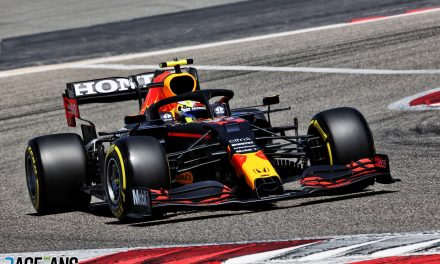 Perez sets quickest time of test so far in last pre-season run for Red Bull · RaceFans