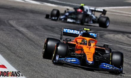 McLaren in a five-way fight for third place in 2021