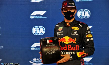 Verstappen knew he had more time in hand for final pole-winning lap · RaceFans