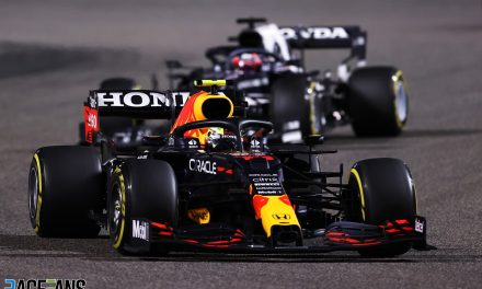 "Horner praises Perez's ""very calm head"" after taking fifth place from pit lane start · RaceFans"