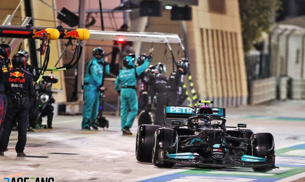 Mercedes explain error behind 11-second pit stop which ruined Bottas's race · RaceFans