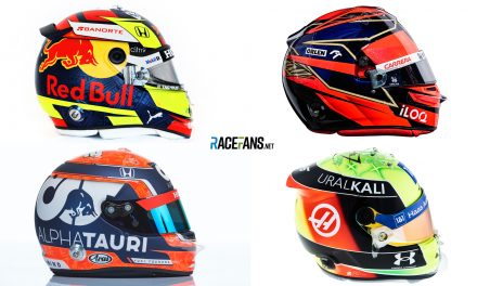 Every F1 driver's helmet design for the 2021 season · RaceFans