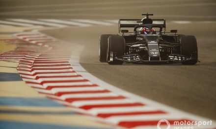 The DRS trick behind Tsunoda's standout F1 Bahrain test lap times